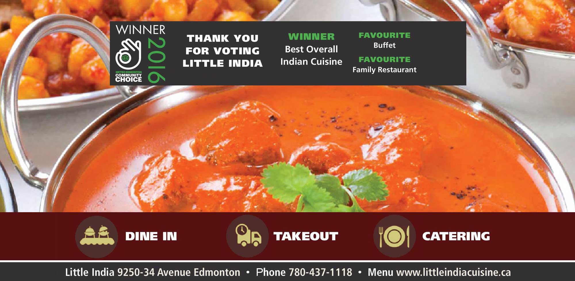 Best Indian Food Delivery Edmonton
